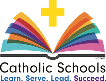 Catholic School Logo-learn-serve-lead-succeed